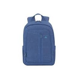 """RivaCase 7560 Canvas Blue 15.6"""" Backpack"""