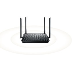 Wireless  AP+Router ASUS RT-AC57U AC1200 Smart Dual Band Gigabit Router 4G 4Antennas 300Mbps+867Mbps