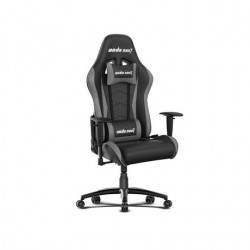 Gaming Chair AD5-01-BG-PV AndaSeat Axe Series BLACK&GRAY 2D Armrest 60mm wheels PVC Leather