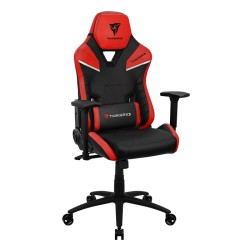 Gaming Chair ThunderX3 TC5 EMBER RED 3D Armrest 65mm wheels PVC Leather