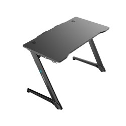 Gaming Desk ThunderX3 ED3 Gaming Desk 18mm thick particleboard, waterproof plastic surface Black